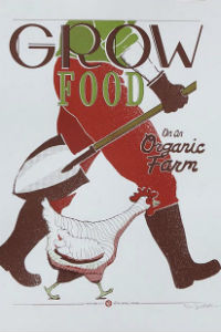 Grow Food original art